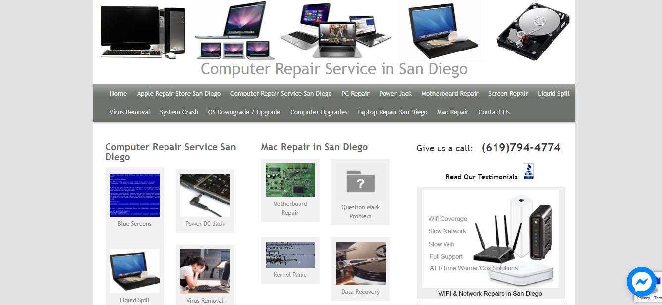 San Diego Best Computer Repair