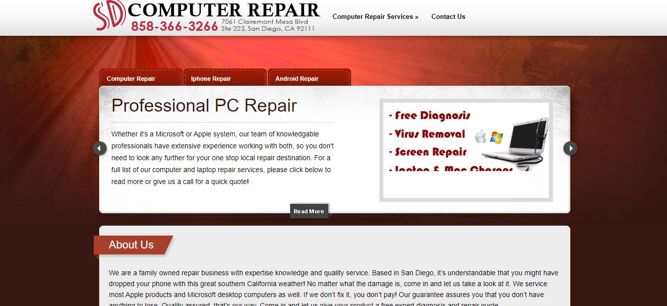 The Best Computer Repair in San Diego