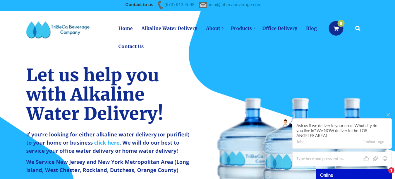 Best Water Delivery in New York City