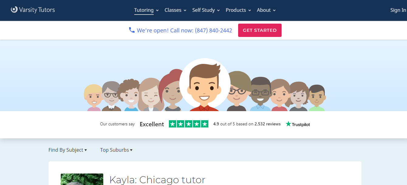 Best Tutors around Chicago