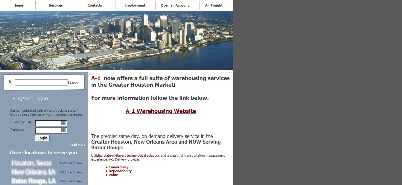 Houston's Best Courier Service