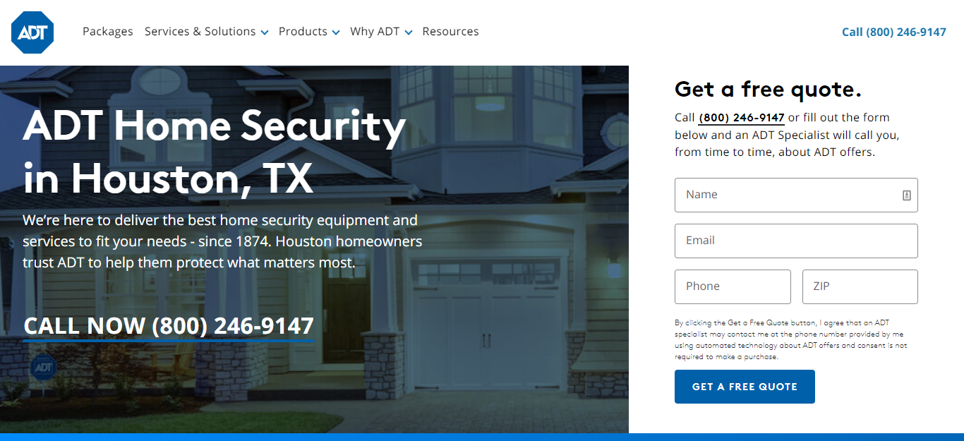 The Best Security Systems in Houston