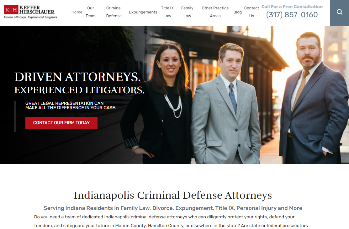 Constitutional Law Attorneys in Indianapolis