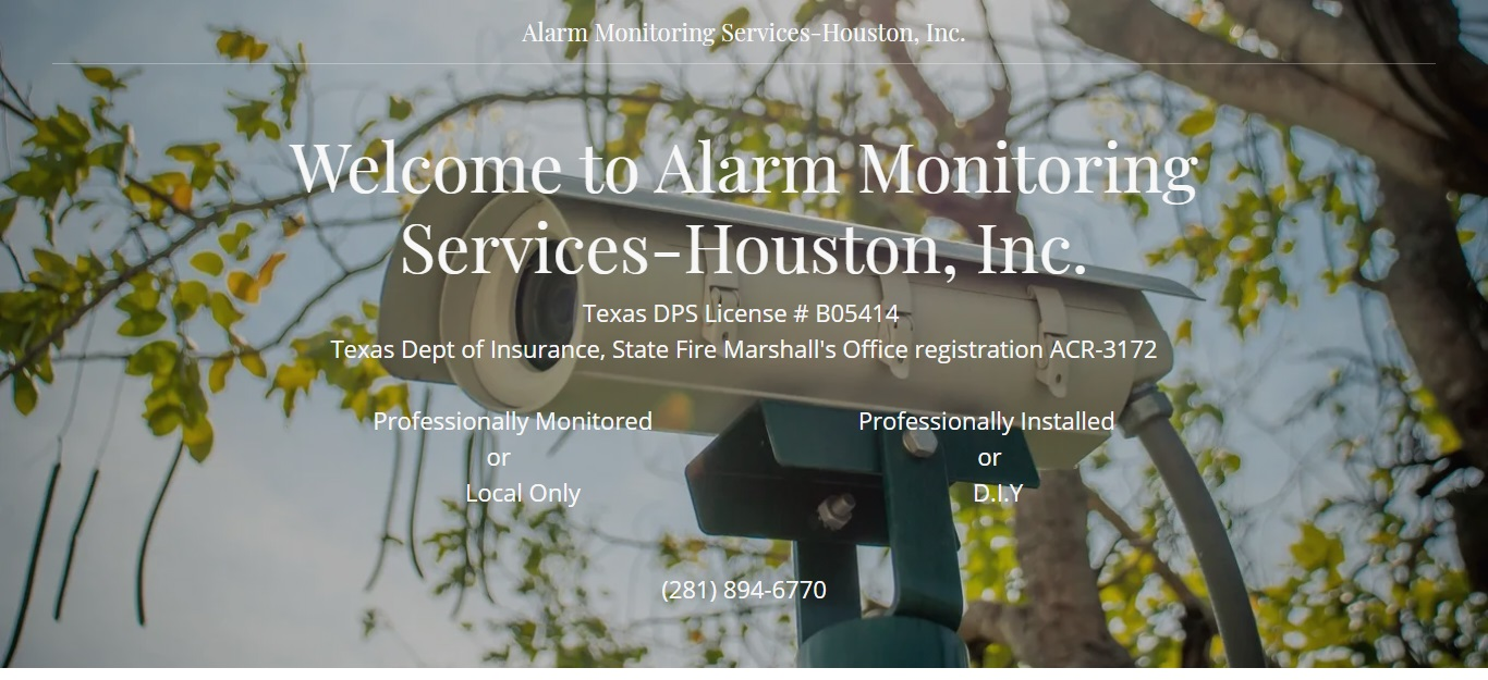 Houston's Best Security Systems