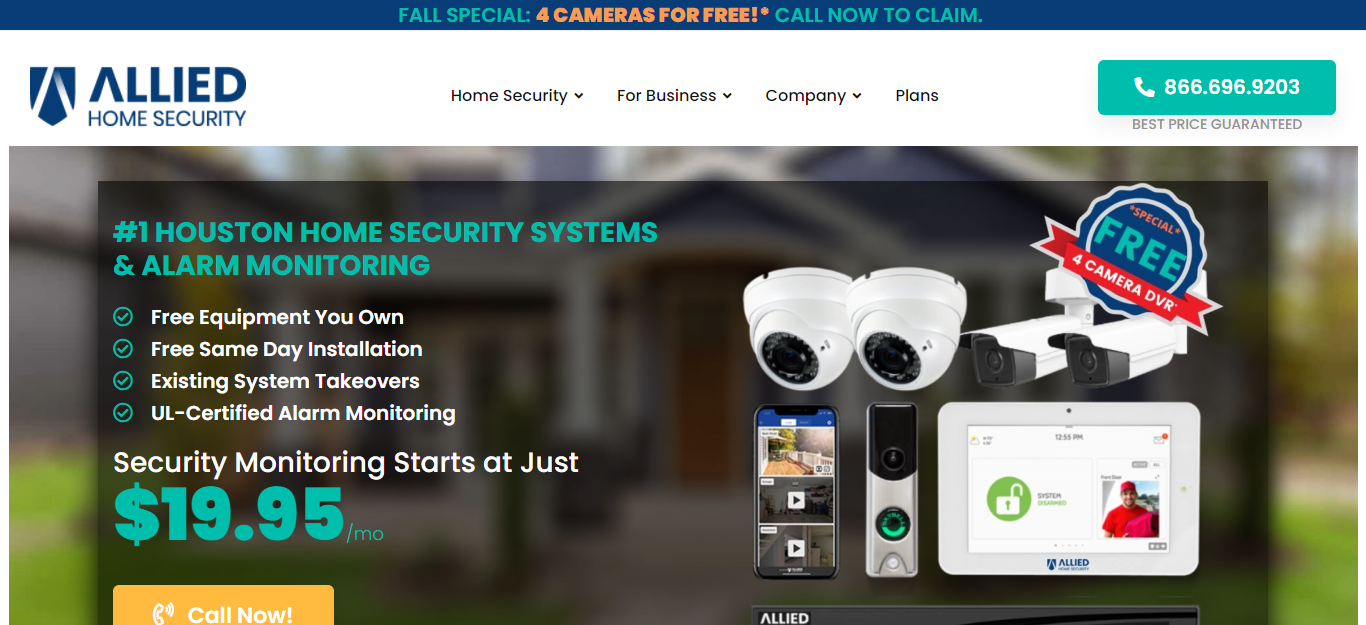 5 Best Security Systems in Houston