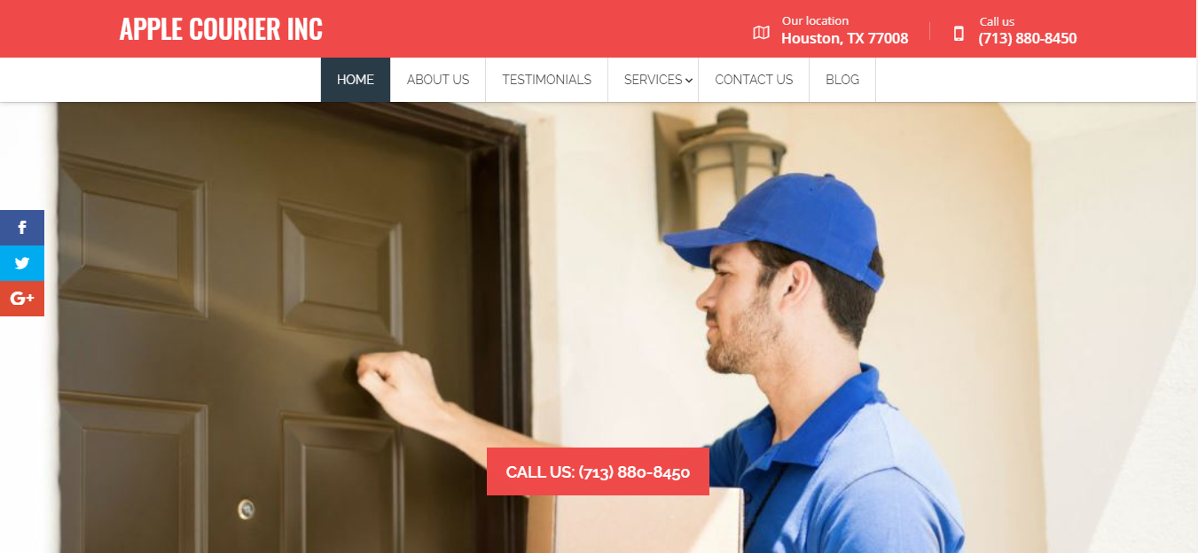 The Best Courier Service in Houston