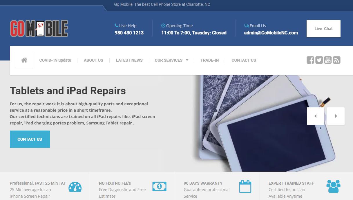5 Phone Repair in Charlotte
