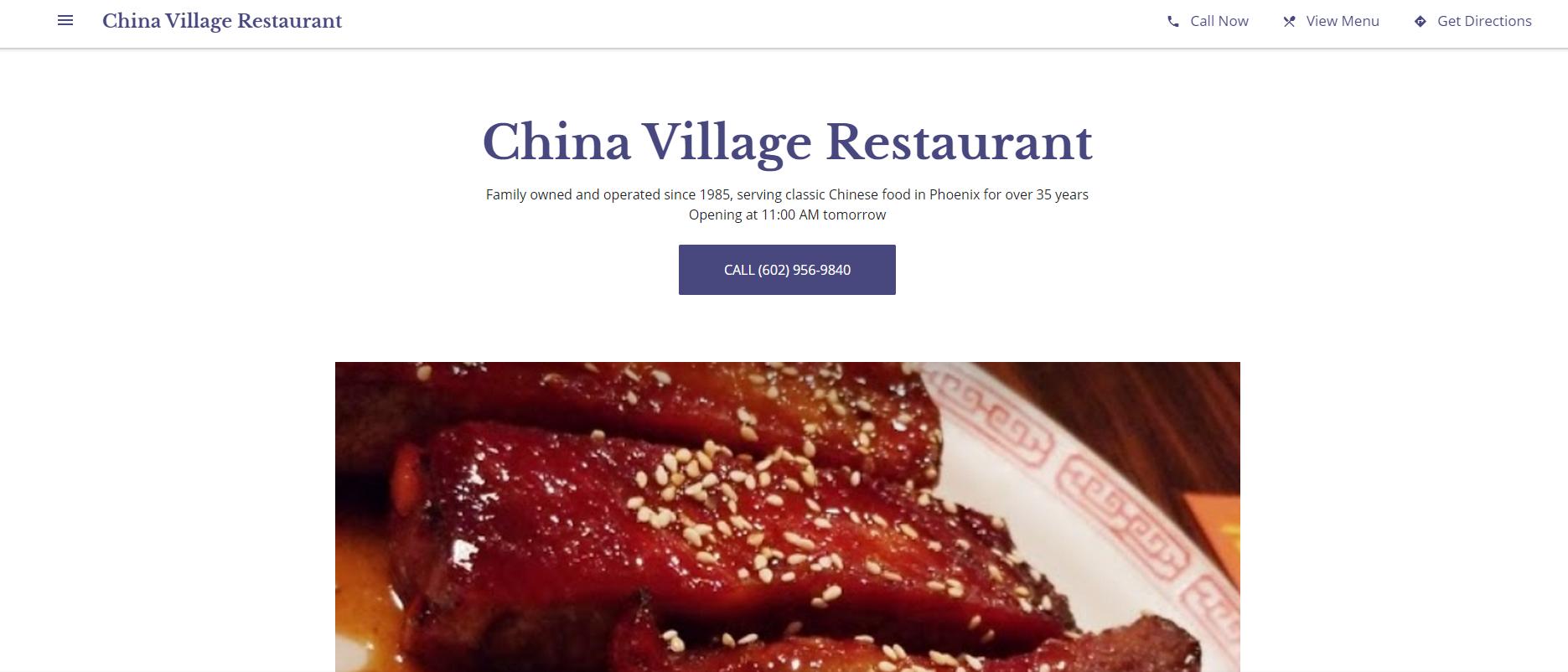 5Chinese Restaurants in Phoenix