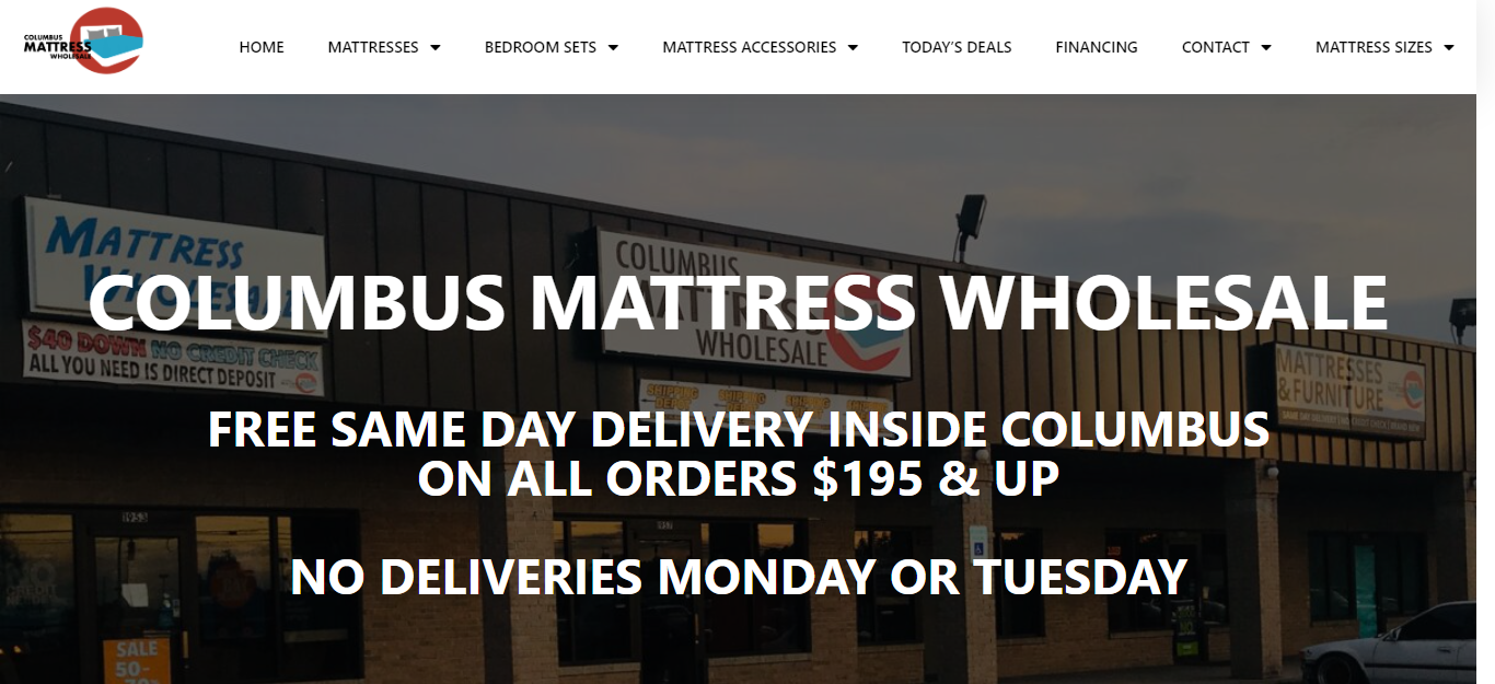 5 Best Mattress Stores in Columbus