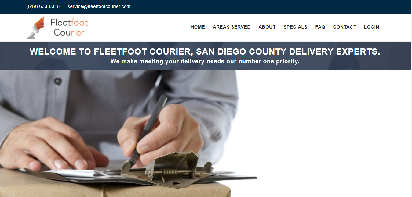 5 Courier Services in San Diego