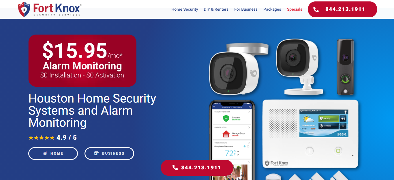 Best Security Systems in Houston