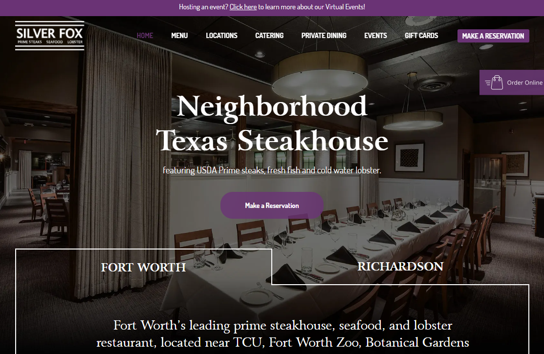 Steakhouses in Fort Worth