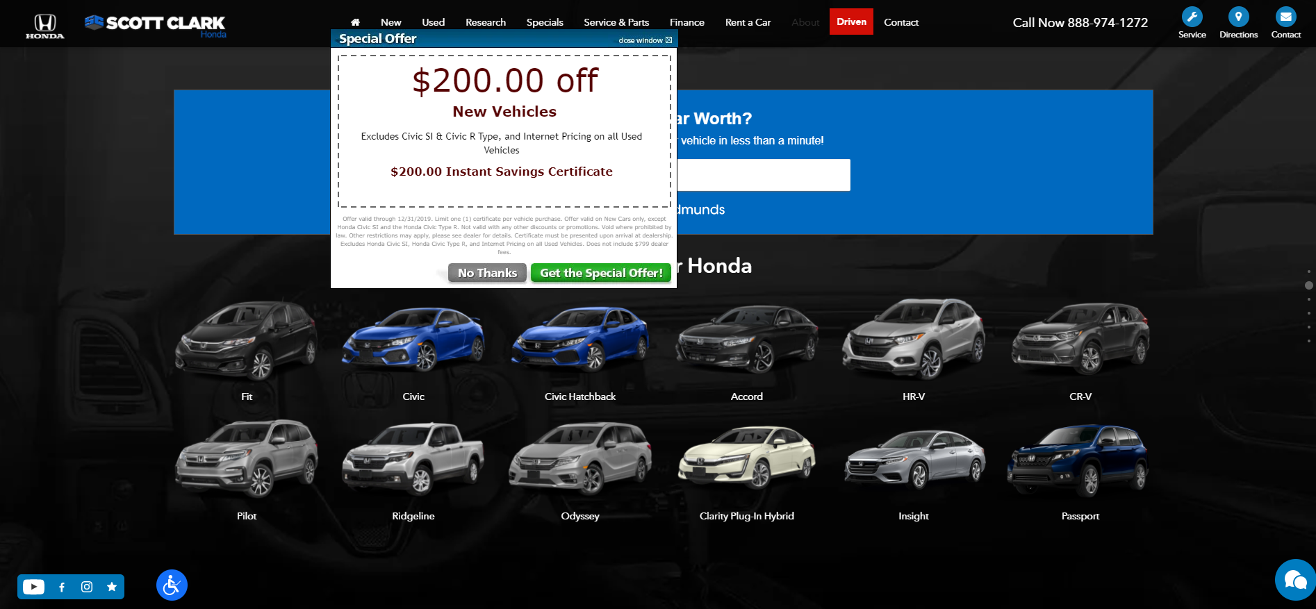 Honda Dealers in Charlotte