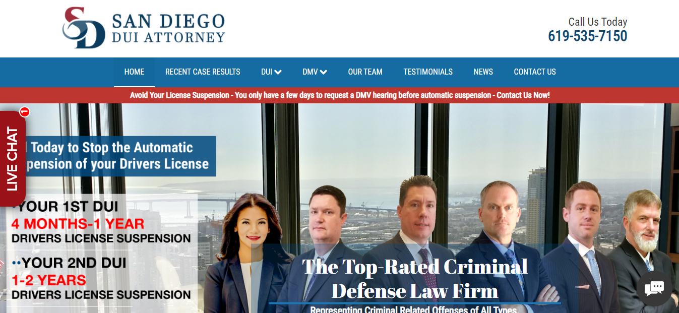 Best Drunk Driving Attorneys in San Diego