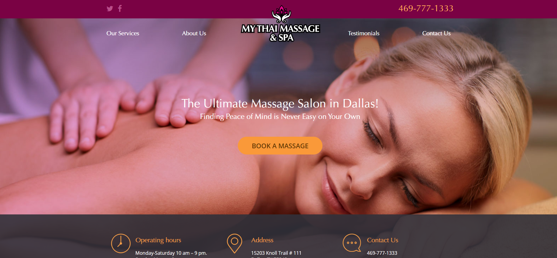 Best Thai Massages in Dallas