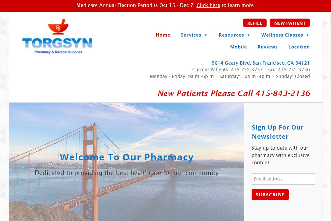 Pharmacy Shops in San Francisco