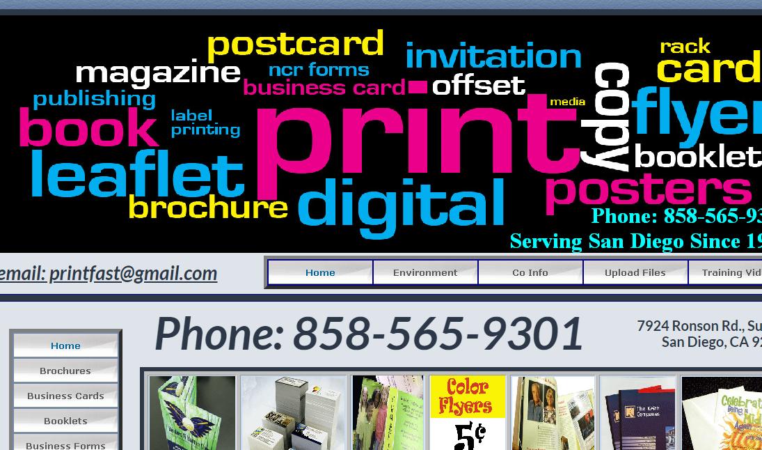Printing in San Diego