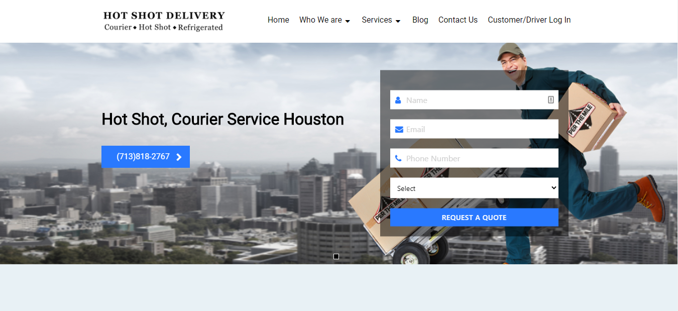 Best Courier Service in Houston
