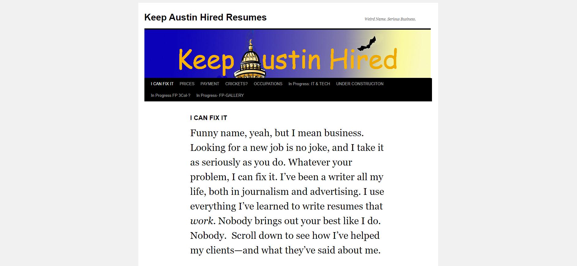 Resume Helps in Austin