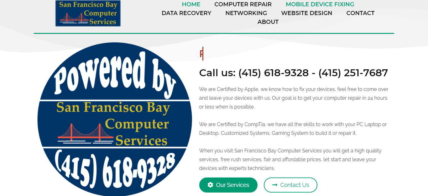 Best Computer Repair in San Francisco