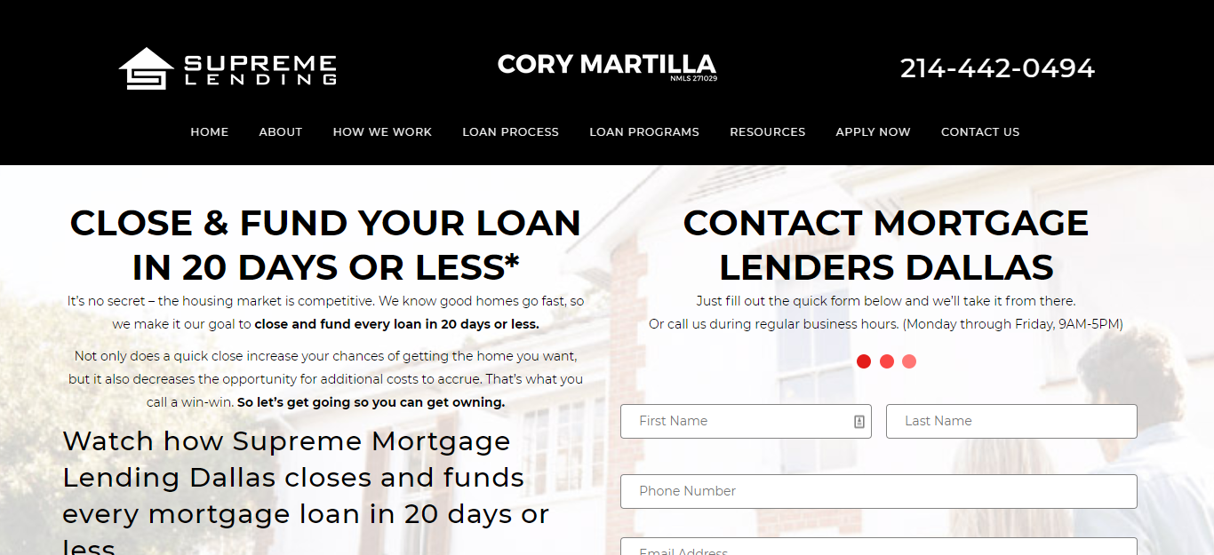 5 Best Mortgage Brokers in Dallas