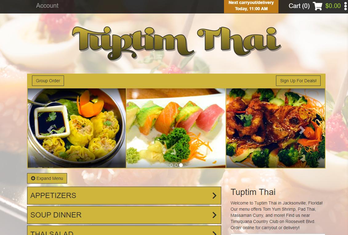 5 Thai Restaurants in Jacksonville