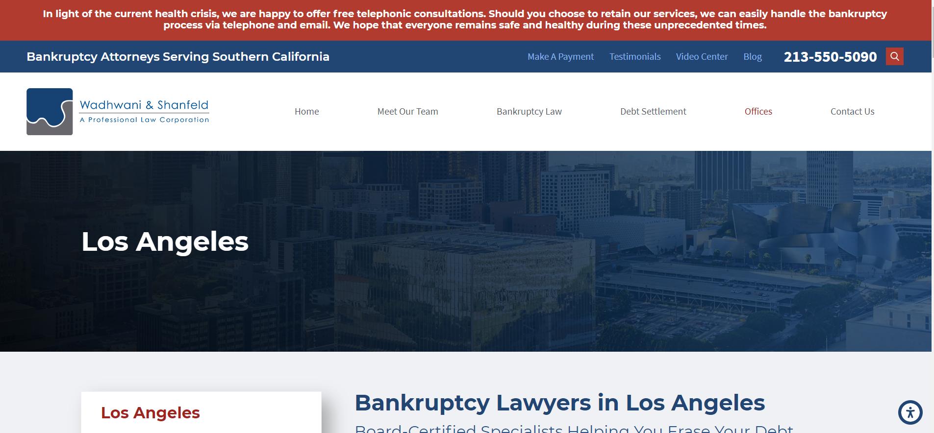 LA bankruptcy lawyers