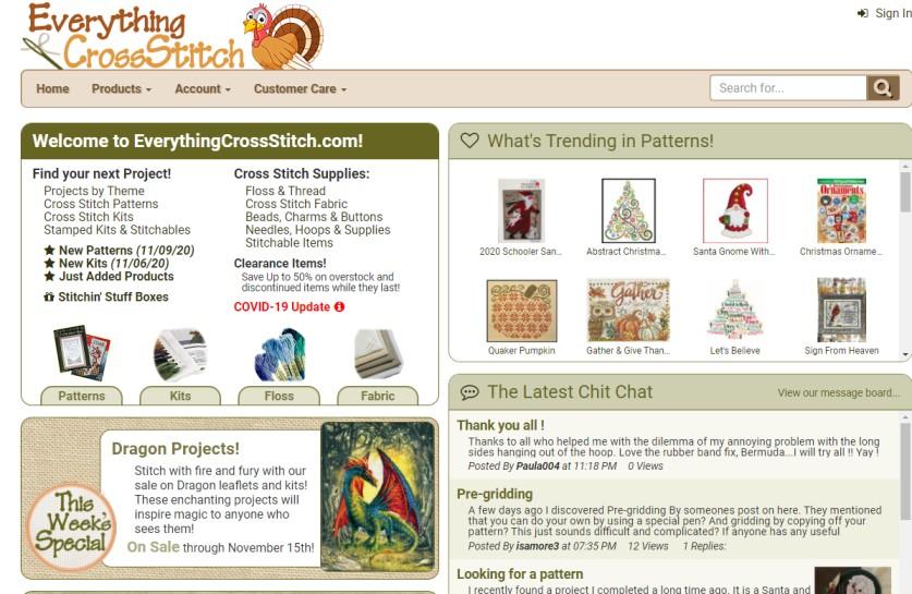 Everything CrossStitch - cross stitch kits
