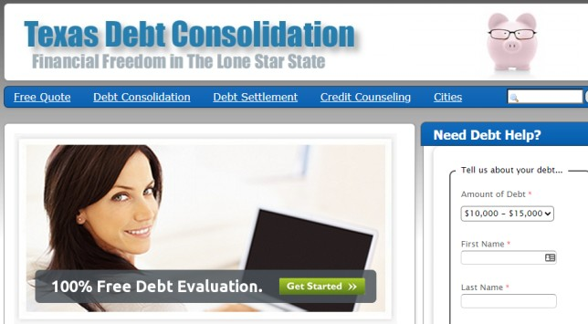Texas Debt Consolidation