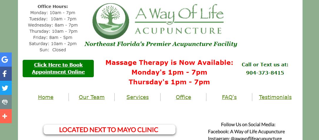 5 Best Acupuncture in Jacksonville 1