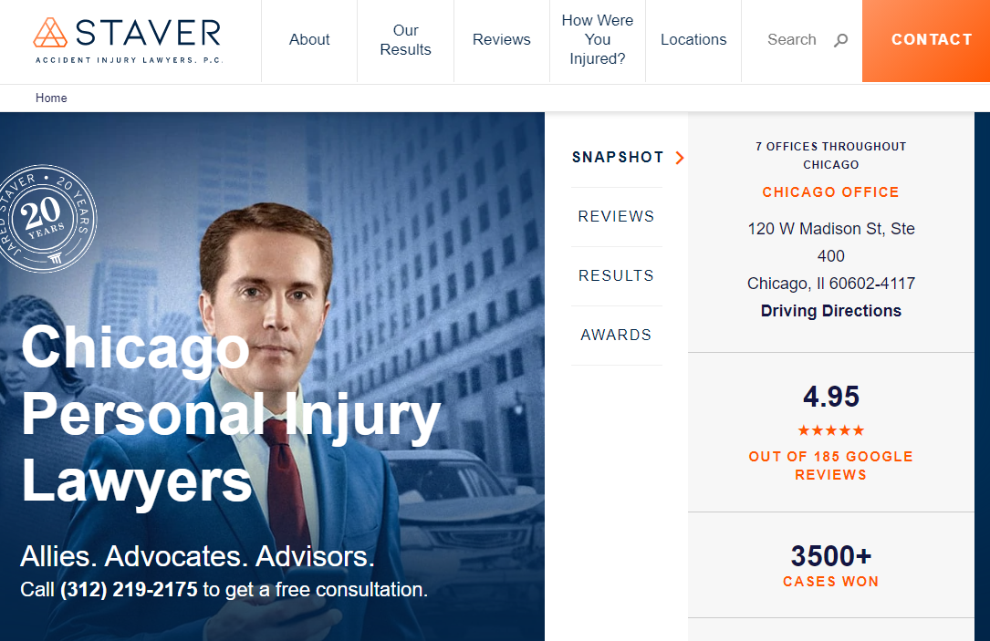 5 Best Personal Injury Attorneys in Chicago 3