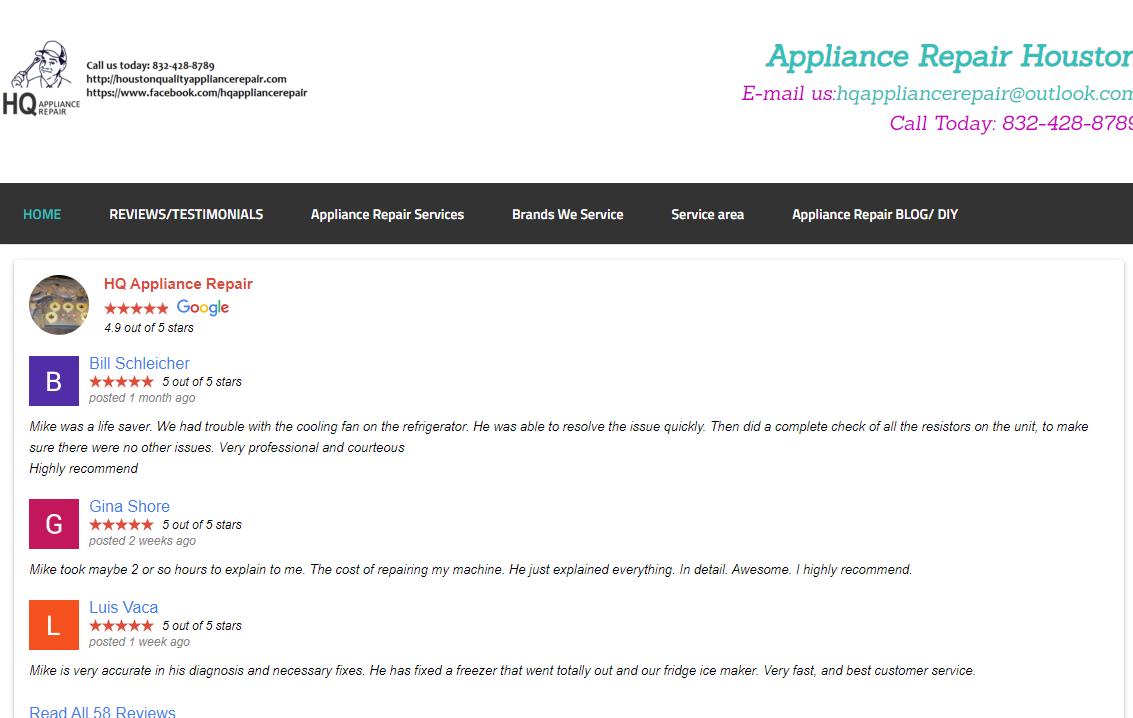 5 Best Appliance Repair Services in Houston3
