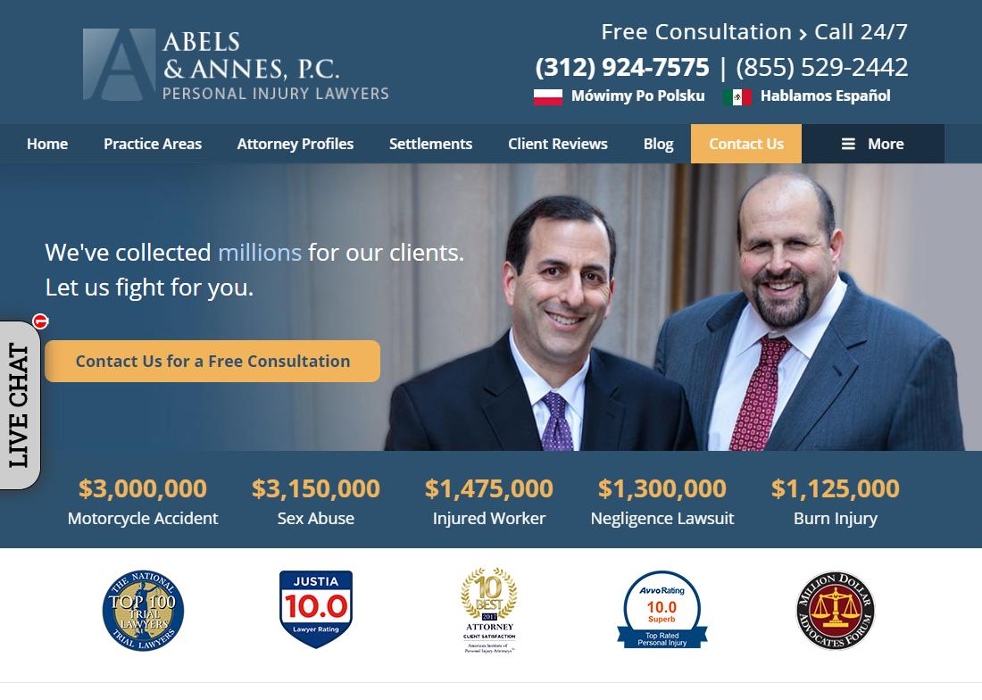 5 Best Personal Injury Attorneys in Chicago 5