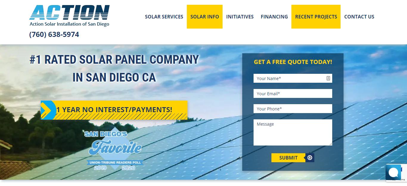 San Diego Best Solar Panels