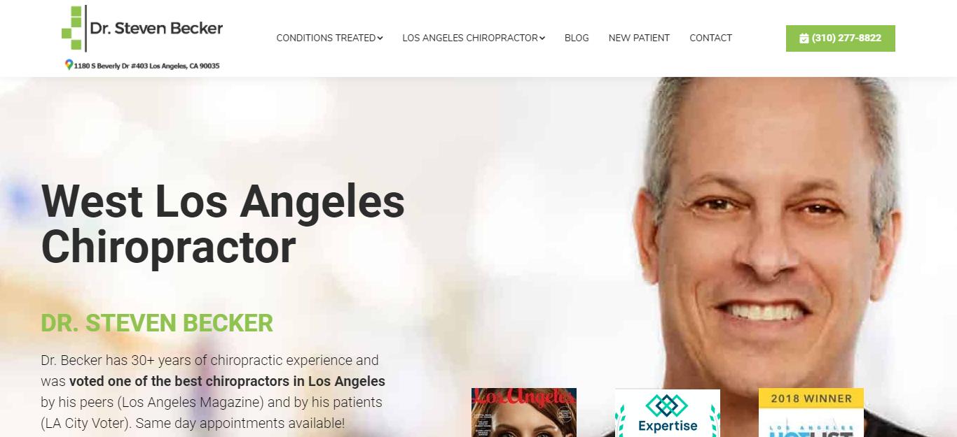 Los Angeles' Best Chiropractors