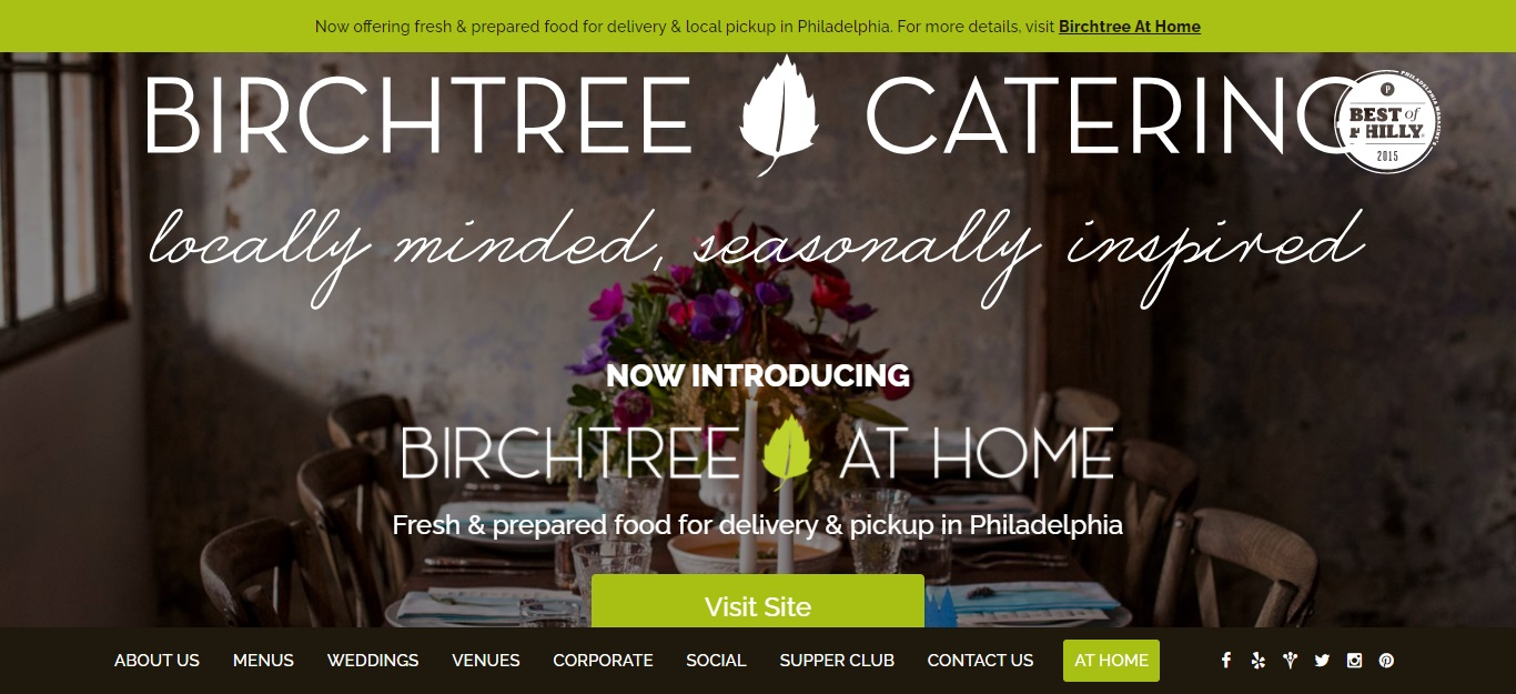 Best Caterers in Philadelphia