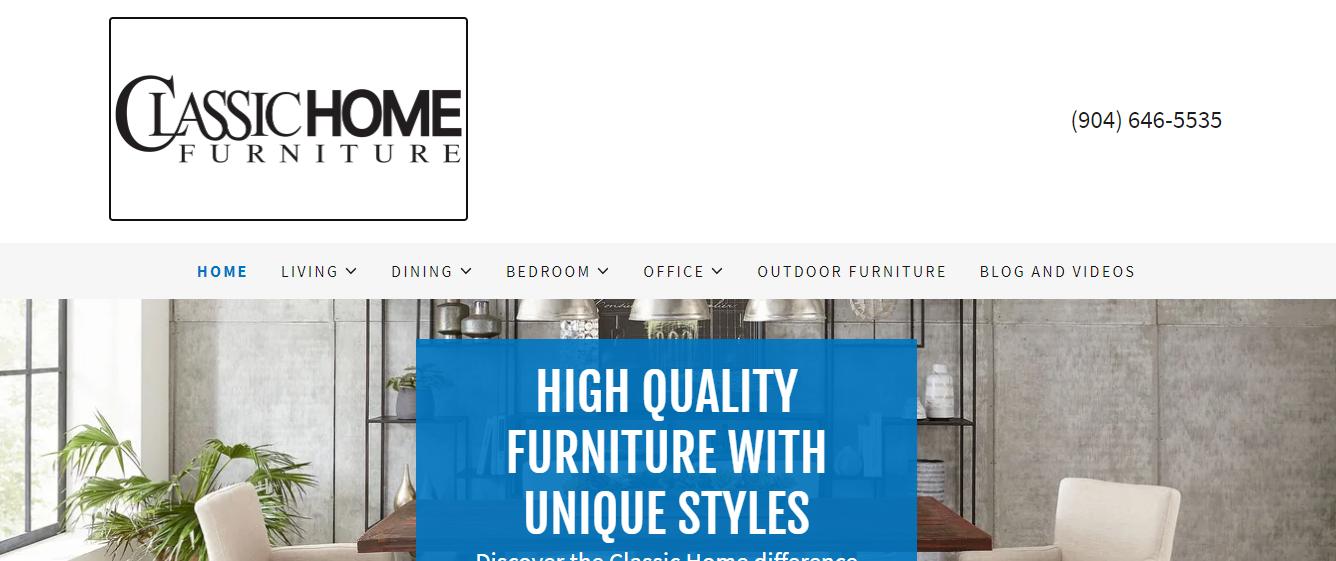 5 Best Furniture in Ja4cksonville