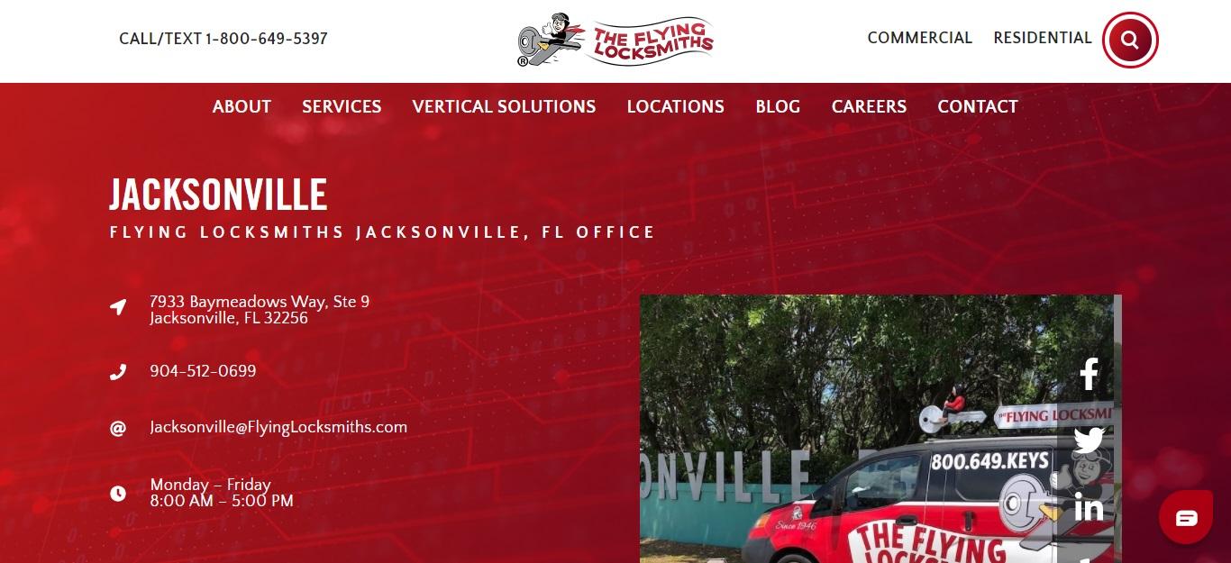 The Best Locksmiths in Jacksonville