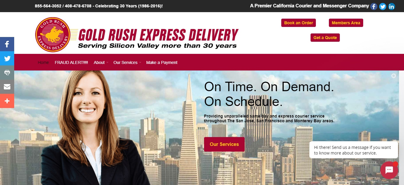 5 Best Courier Services in San Jose