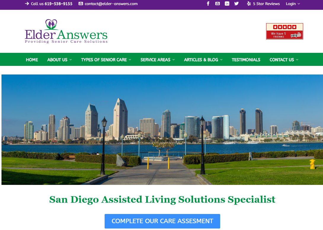 5 Best Aged Care Homes in San Diego 2