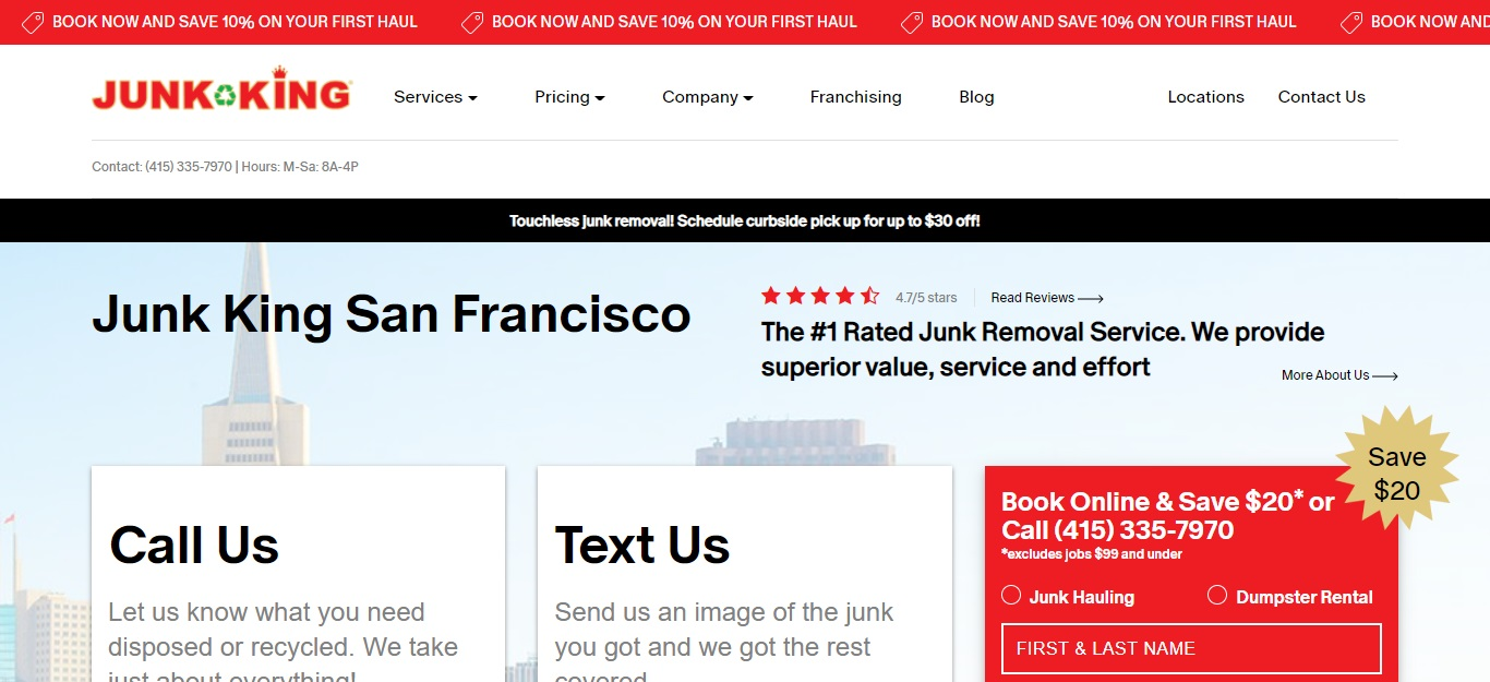 5 Best Rubbish Removal in San Francisco