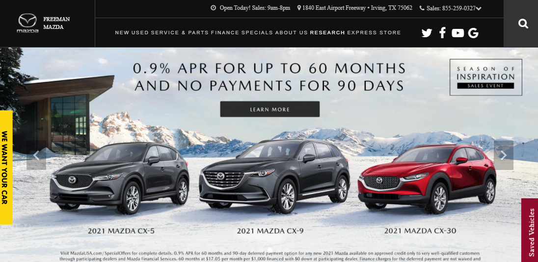 5 Best Mazda Dealers in Dallas1