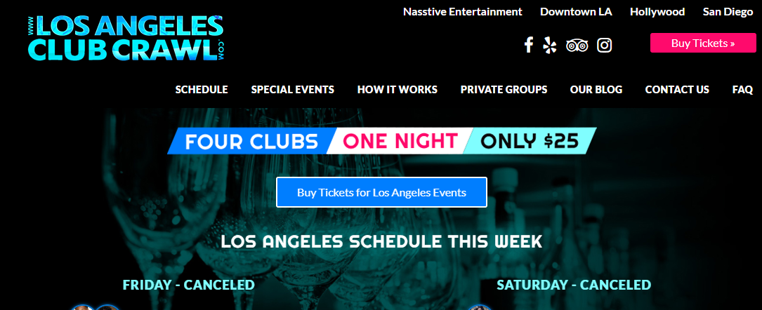 5 Best Nightclubs in Los Angeles1