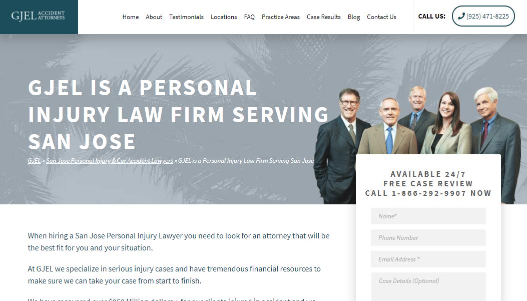 5 Best Personal Injury Attorneys in San Jose2