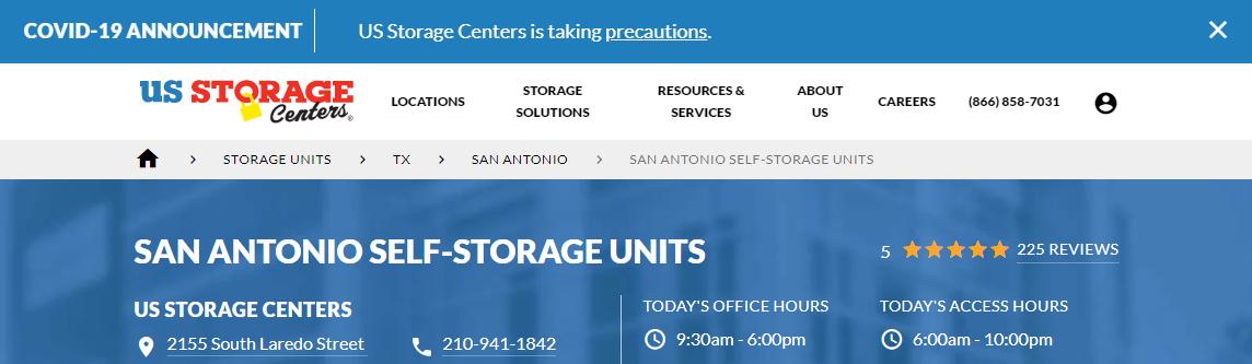 5 Best Storages in San Antonio3
