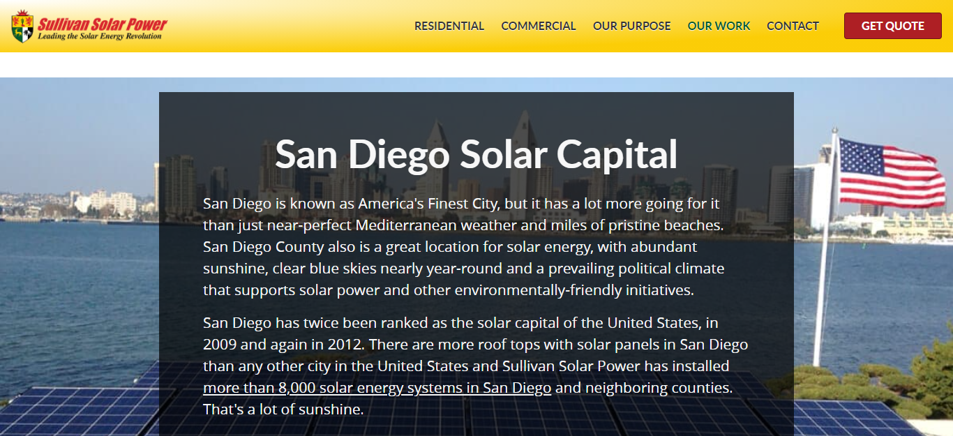 Best Solar Panels in San Diego