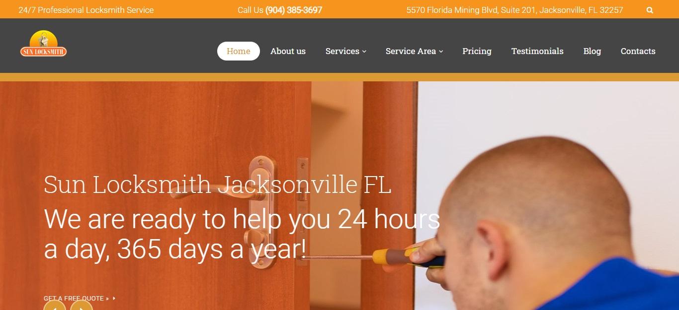 Best Locksmiths in Jacksonville