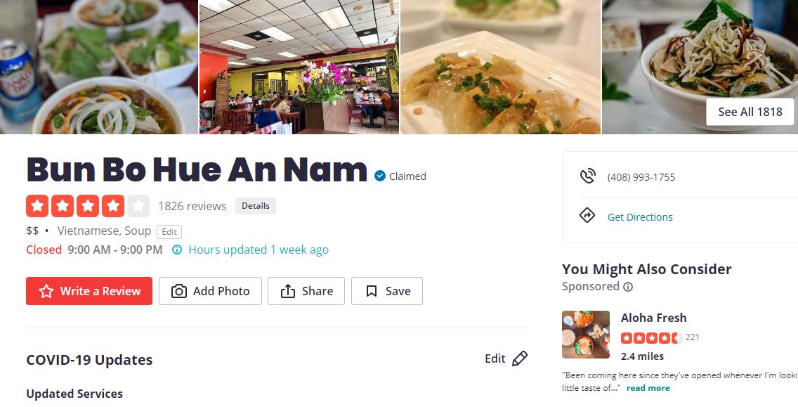 5 Best Vietnamese Restaurants in San Jose1