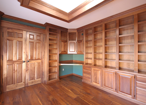 Cabinet Makers Custom Built-in Bookcases