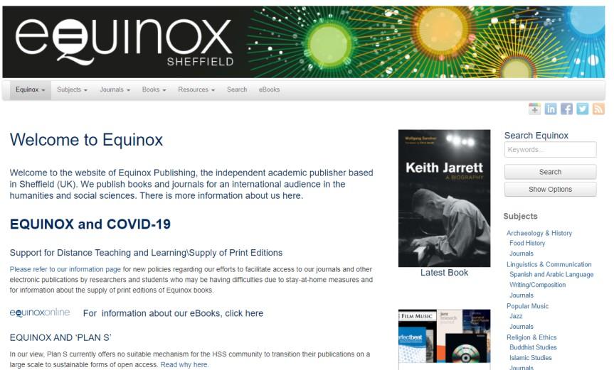 Equinox Publishing